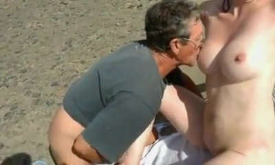 Naked Beach - Timid Wife Plays with Strangers