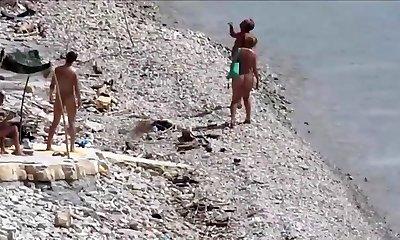 Mature Duo Beach