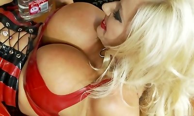 Best adult movie star Michelle Thorne in extraordinaire lingerie, blonde sex video
