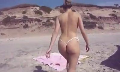 glorious ass on the beach