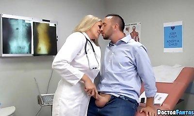 Ultimate Blonde Doctor Cougar