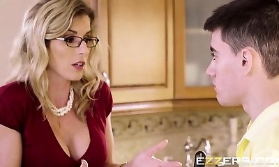 Cory Chase In Post Party Quickie For Mummy