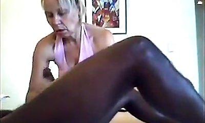 Hidden Web Cam Massage - Handjob & Blowjob