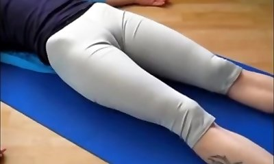 Wondrous  athletics 101(yoga cameltoe)