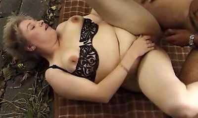 Chubby Mature Outdoor Fuck