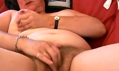 Chubby Unshaved Mature Fingers