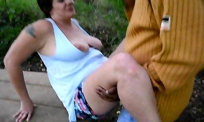 Grandmother dogging cuck cpl creampie finish part 3