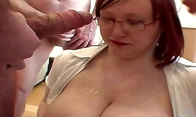 Plump and fat amateur cumshot compilation