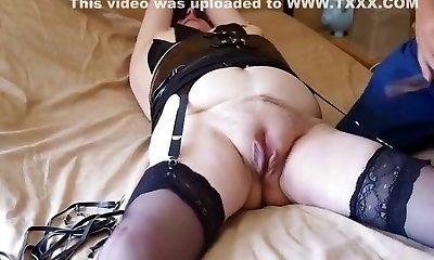 Exotic amateur Stockings, Fetish sex movie