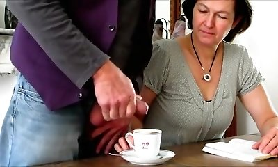 Crazy Fledgling clip with Brown-haired, Grannies scenes