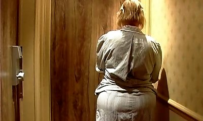 Mature french maid with Giant ass