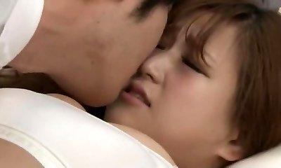 Hottest Japanese girl Anna Momoi, Nozomi Wakui in Best Massage, Girlfriend JAV video