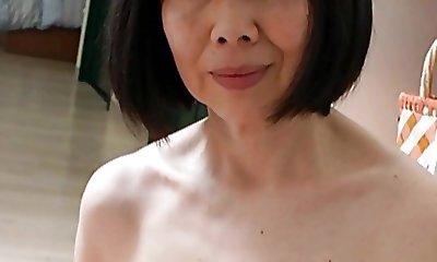 Asian Mature with Fantastic Nipples