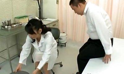 Nurse natsumi kitahara gets her muff