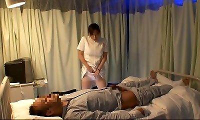 Greatest Chinese model Aya Kiriya, Mirei Yokoyama, Emiri Momoka in Exotic Nurse JAV flick