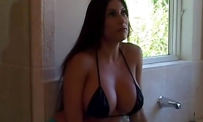 Greatest pornstar Sheila Marie in fabulous mature, ample tits xxx scene