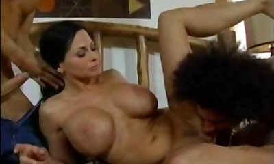 Harley Rain - Mother fucked by 2 young boys