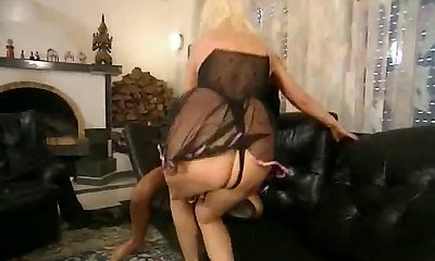 German Mature Assfucking casting 2