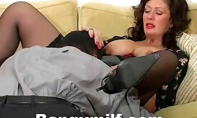 Hardcore mature torn up with big cock