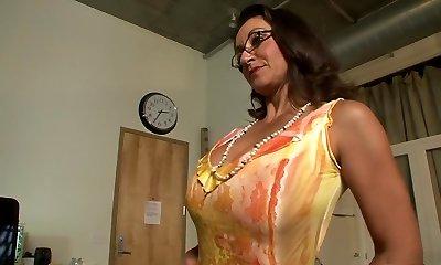 Greatest porn industry stars Persia Monir and Bonnie Skye in hottest brunette, masturbation xxx scene