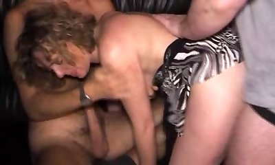 Homemade group sex party wives