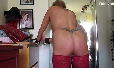 Crazy amateur Mature, Fetish sex clip
