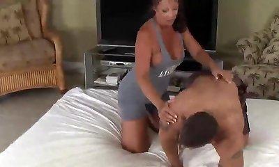 wrestling with mummy