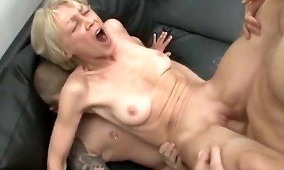Crazy Amateur video with Bald, Grannies scenes