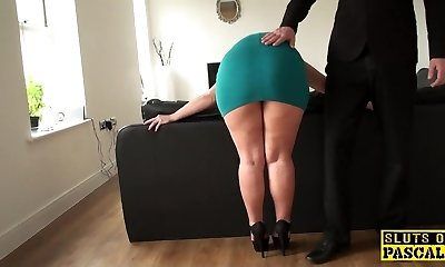 Mature sub butt-fucked until red raw and ruined