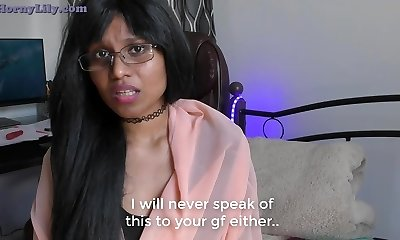 Mischievous Mom-son-in-law Roleplay in Hindi (with English subtitles)