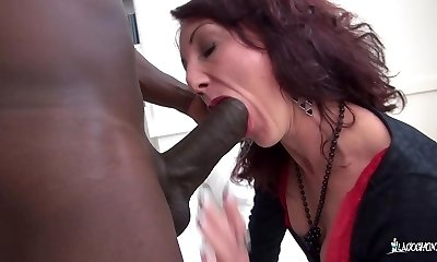 LaCochonne - Hot rigid fuckbox and ass fuck with amateur French