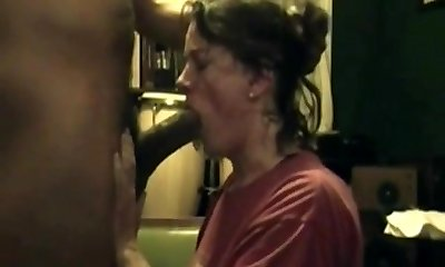 housewife doll bbc deep blowjob