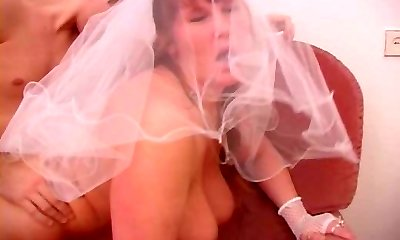 Fat mature handsome bride