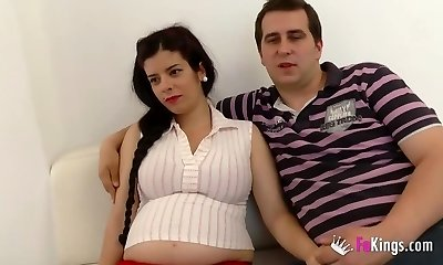 Selling my prego girlfriend. Jordi likes a future mom