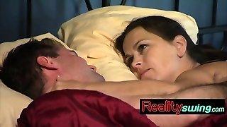 úžasný pár baví v posteli