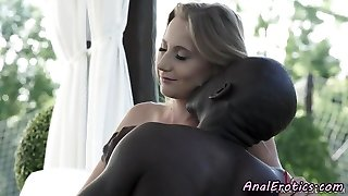 Glamcore babe gets anally screwed by bbc