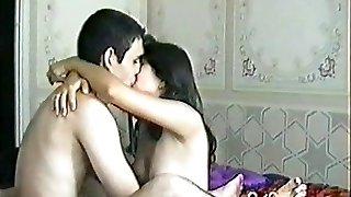 üzbég pár amatőr