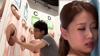 잘 생긴 아시아 biotch 에서 장난꾸러기 Fingerblasting,여자 먹는 JAV 비디오
