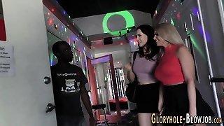 Gloryhole ho mounds spermed