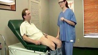 Super-naughty Doctor Handjob