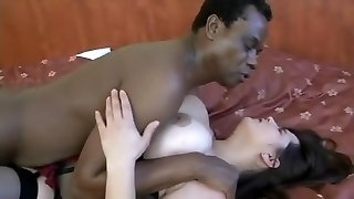 Best sex industry star in amazing interracial, rectal sex clip