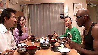 Incredible Japanese chick Reiko Kobayakawa in Best big man meat, big titties JAV clip