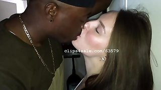 Teddie and Stephy Kissing Flick 3