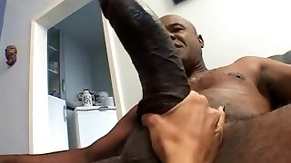 Platinum-blonde With Small Tits Suffers A Big Black Cock In Her Ass