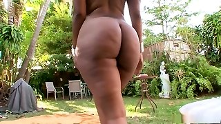 Fabulous pornstar in hottest immense ass, dark-hued and ebony sex video