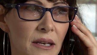 Hottest pornstar Alexandra Silk in kinky brazilian, facial porn episode