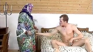 Good-sized BBW GRANNY MAID Pulverized HARDLY IN THE ROOM
