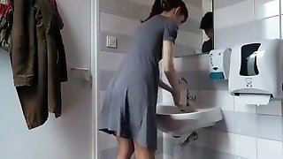 What Girls Do In The Bathroom Compilation 3