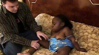 ultra-kinky čierny trpaslík žena je stále romped tuhý