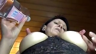 Milf with large nipples